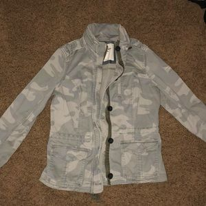 Abercrombie and Fitch Camo jacket
